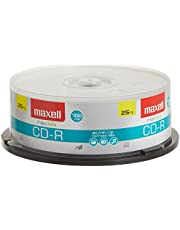 Maxell CDR 700MB 80MIN 48X-SPINDLE 25PK ( 648225 ) (Discontinued by Manufacturer)