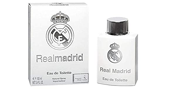 Amazon.com: Real Madrid Real Madrid Hombres edt Spray 3.4 oz ...