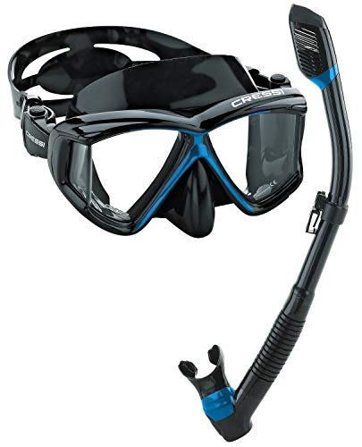 Cressi Panoramic Mask and Dry snorkel