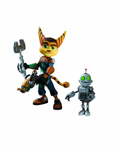 Ratchet & Clank Series 1: Ratchet with Transforming Clank Action Figure