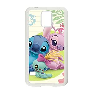Lilo & Stitch Samsung Galaxy S5 Cell Phone Case White yyfabc-372064