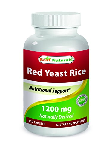 Cheap Best Naturals Red Yeast Rice 1200 mg 120 Tablets