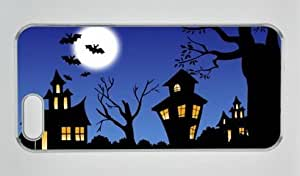 Halloween Art For Kids Iphone 5 5S Hard Shell with Transparent Edges Cover Case by Lilyshouse
