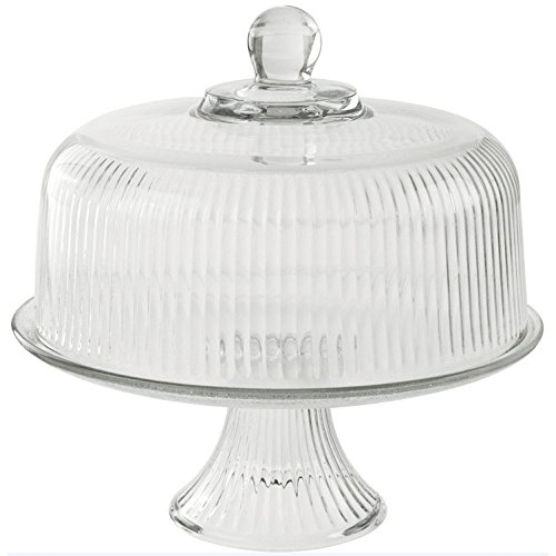 Cake Plate Punch Bowl - 1