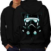 Storm Trooper Star Men S-5XL Hoodie Back   Wellcoda