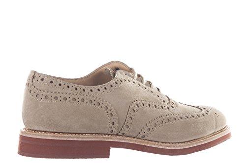 Churchs Hommes Classique En Daim Lacets Up Formaled Chaussures Downton Beige