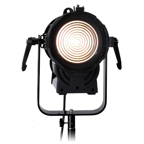 Fotodiox Pro DY-200w Tungsten Fresnel LED, High-Intensity LED Fresnel Light for Film & Television - with Remote Dimmable and Focusable Control, 12V AC Power Adapter, Light Stand bracket and Removable Barndoors, CRI > 85 by Fotodiox (Image #8)