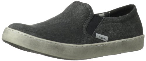 C Label Dames Randy-7a Slip-on Loafer Zwart