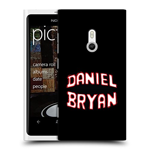 Official WWE Name Daniel Bryan Hard Back Case for Nokia Lumia 800 / Sea - Ray Nam