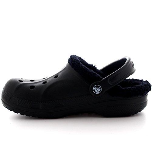 Baya Crocs Sabots Noir U Lined Mixte Sabot Adulte 1wwqR6dU