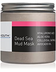 YEOUTH Dead Sea Mud Face Mask with Hyaluronic Acid, Aloe, Oatmeal, and Avocado, Minimizes Pores, Reduces Wrinkles, Clears Blackheads, Acne and Helps Oily Skin, Rejuvenates 8oz - GUARANTEED
