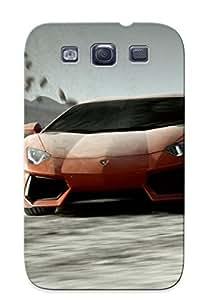 CmArTaj5045iHOFV Case Cover Protector Series For Galaxy S3 Lamborghini Aventador Case For Lovers