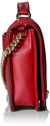Rebecca Deep Top Handle Chevron Crossbody Quilted Love Red Small W Minkoff rzTw6r
