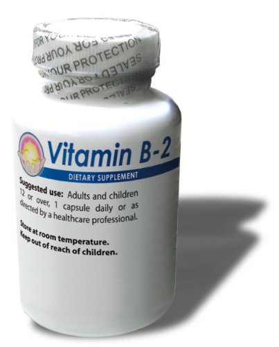 Vitamine B2, 300 mg, 100 capsules