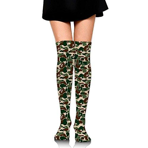 非難するリンス壁紙めいさいふく ストッキング サイハイソックス 3D デザイン 女性男性 秋と冬 フリーサイズ 美脚 かわいいデザイン 靴下 足元パイル ハイソックス メンズ レディース ブラック