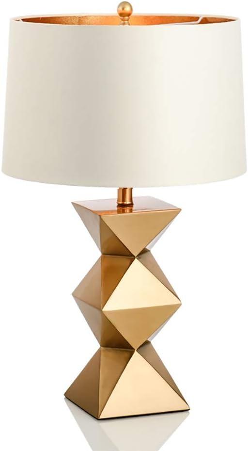 Lampe De Table Décorative Dorée, Lampe De Table De Chevet