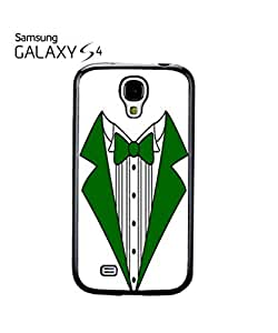 Tuxedo Suit Bow Tie Mobile Cell Phone Case Samsung Galaxy S4 White