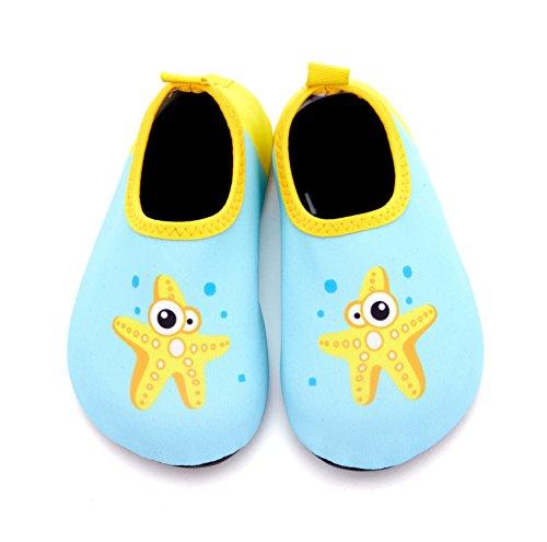 Giotto Kids Swim Zapatos De Agua De Secado Rápido Antideslizante Para Niños Y Niñas B-green