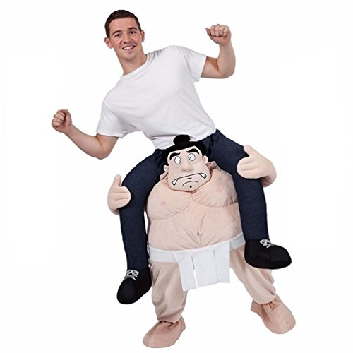 Smile Style Piggyback Ride On Riding Shoulder Adult Costume