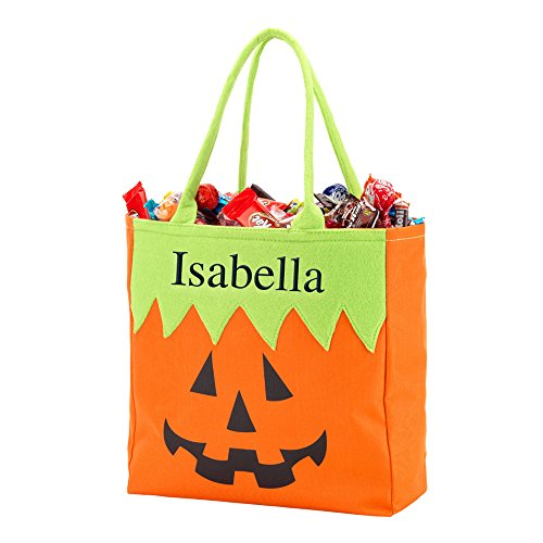 GiftsForYouNow Jack O' Lantern Personalized Halloween Trick or Treat -