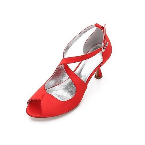 b270e19a 60% de descuento El mejor regalo para mujer y madre Mujer Zapatos Satén  Primavera Verano Confort ...