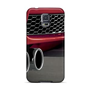 New Premium Flip Cases Covers Red Bmw M3 Exhausts Skin Cases For Galaxy S5