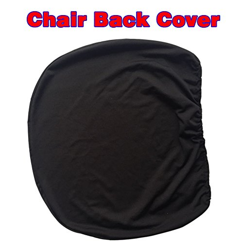 Loghot Chair Covers Spandex Universal Computer Office Desk Stretch Rotating Pure Color Chair Cover (Black) Photo #2