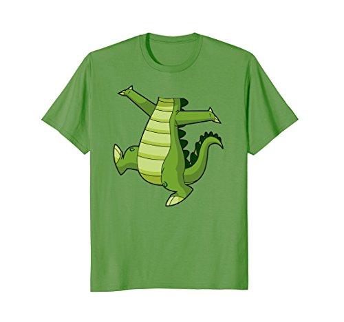 Mens Crocodile Alligator Easy Halloween Costume T-Shirt XL Grass