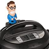 Steam Mates Henry Compatible with Instant Pot Accessories - Steam Comes Out His Ears – Fun Way to Divert Steam on InstaPot Away From Cabinets – Fits Pressure Cooker Duo/Duo Plus/Smart Models