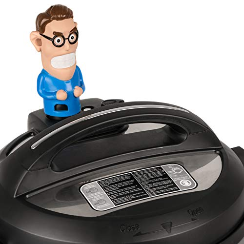 Steam Mates Henry Compatible with Instant Pot Accessories - Steam Comes Out His Ears – Fun Steam Diverter on InstaPot Away From Cabinets – Fits Pressure Cooker Duo/Duo Plus/Smart/Ultra Models