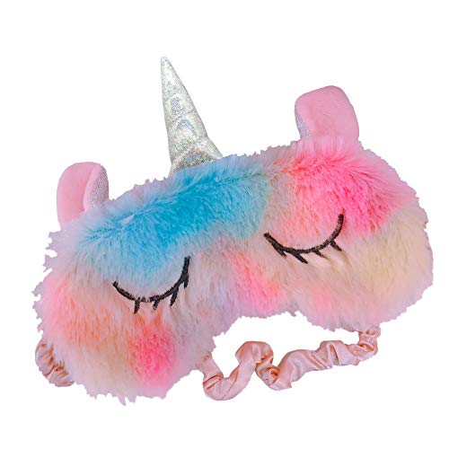 Shinywear Colorful Gradient Unicorn Sleeping Mask Eye Shade