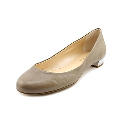 Taupe Marc Leather Fisher Closed Womens Flats Toe Scotty Slide TZTwqP7