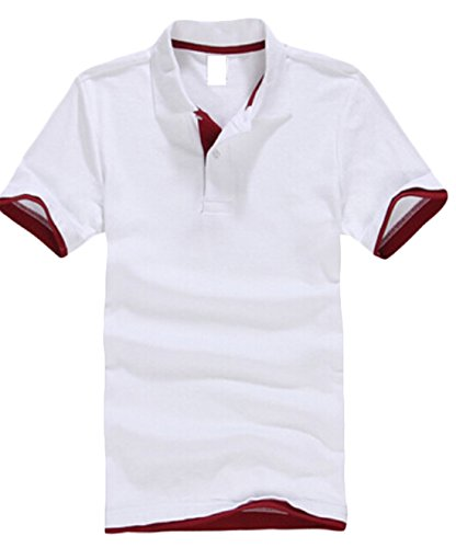 gaga-mens-lapel-casual-polo-short-sleeved-t-shirt-2-xxs