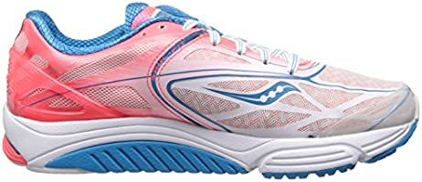 Saucony Cortana 4 S10240-1 Running Training Shoes Sneakers White Pink Womens