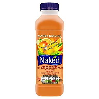 Mango desnuda máquina de zumo Smoothie 450ml (paquete de 450 ml)