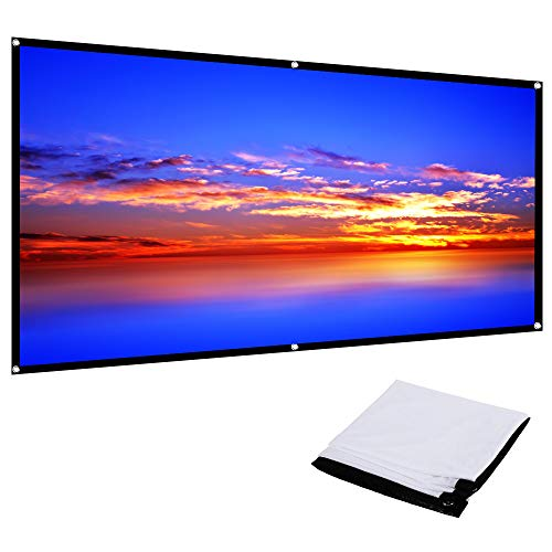 TOPTRO Projector Screen 100 inch