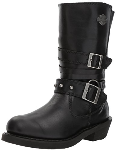 Harley-Davidson Women's Ardwick Motorcycle Boot, Black, 8.5 Medium US ()