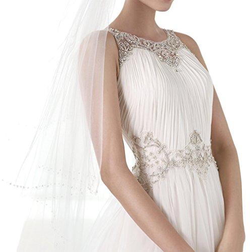 Missdressy -  Vestito  - linea ad a - Donna avorio 44