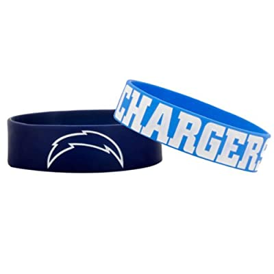 NFL San Diego Chargers Bulky Bandz Bracelet 2-Pack