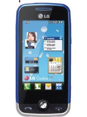 LG GS290 Cookie Fresh GSM Quadband Unlocked Phone with 2 MP Camera, 3-Inch WQVGA Display, FM Radio and Card Slot (Blue) - International Version No Warranty