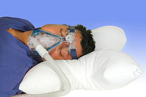 Blue Chip Medical Products cpap-arc Ultra Soft Pillow for Back or Side Sleepers with Pillow Case (Best Cpap Mask For Stomach Sleepers)