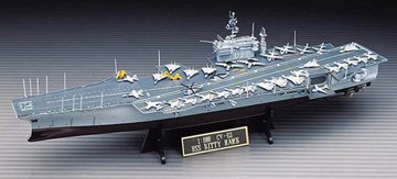 uss kitty hawk model - 7
