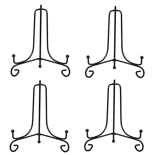 Black Wrought Iron Stand - (4 Pack) 8