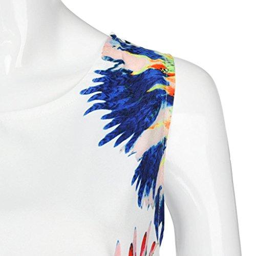 dcontracte Robe Party Maxi Robe Printing 6485 soire de Mini Summer Lady Femmes Multicouleur CEgxaqtw