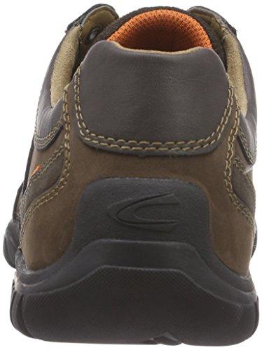 camel active Winnipeg 15 Herren Sneakers Braun (mocca/dk.brown)