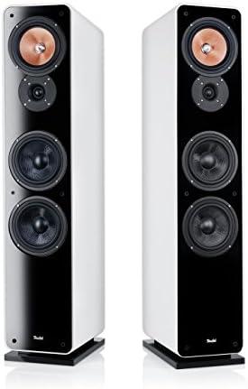 Teufel Ultima 40 MK II - Pack de 2 Altavoces de Suelo HiFi de 200 W, Blanco [Importado]: Amazon.es: Electrónica