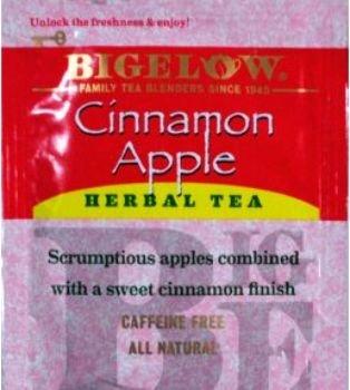 Bigelow Cinnamon Apple Herb Tea (Pack Of (Bigelow Cinnamon Apple Herb Tea)