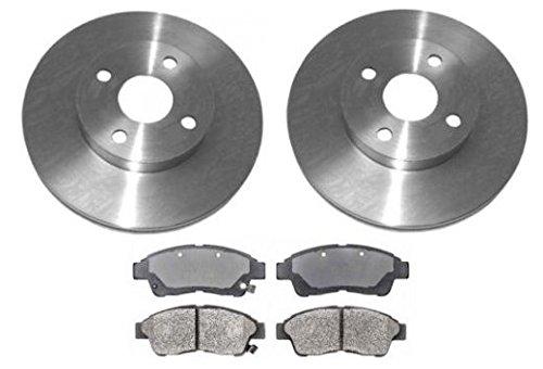 (Front Posi Metallic Brake Pad & Rotor Kit for Toyota Corolla Geo)