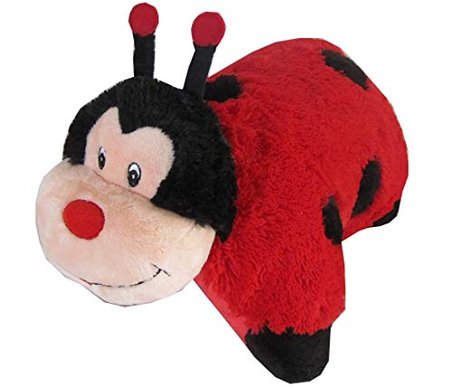 Little Lady Embroidered Pillow - Lady Bug Zoopurr Pets 19