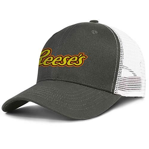 Baseball Humor Cap - Reeses-Logo Snapback Baseball Denim Cap Humor Hats Adjustable Fits Hat